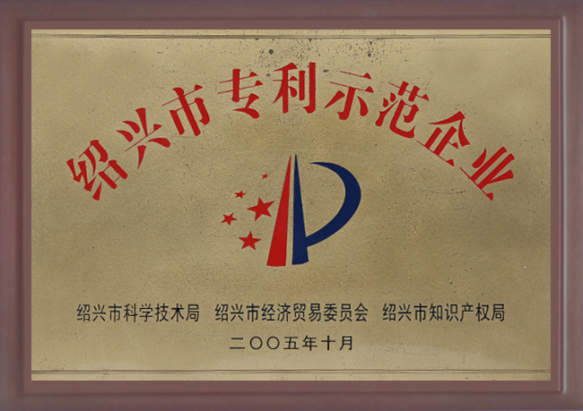 2005年浙江省专利示范企业